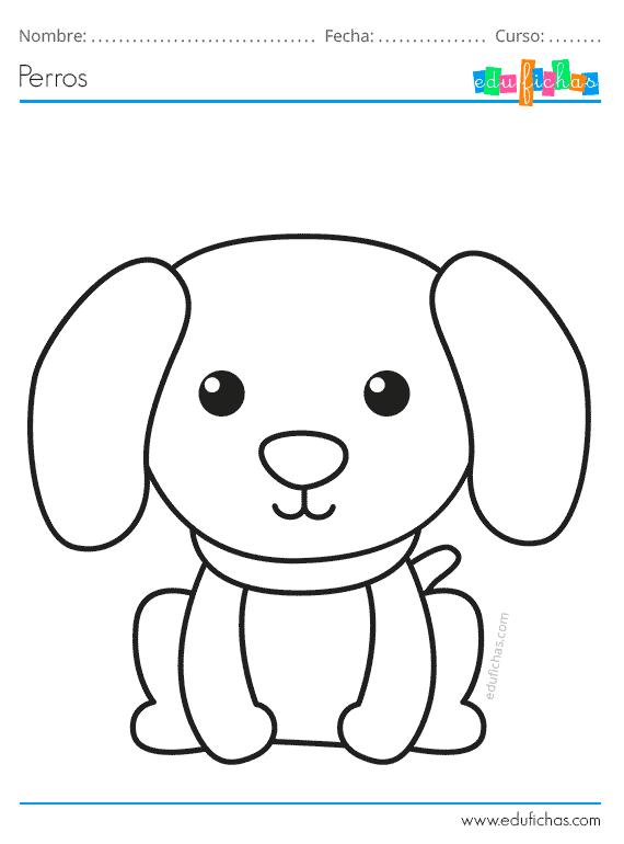 Dibujos De Perros Para Colorear Descargar Pdf Gratis Dibujos De Perros Como Dibujar Un Perro Perro Colorear