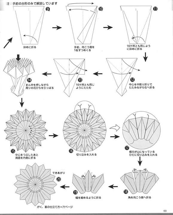 Phenomenal Flor Jp 2 Origami Origami Origami Flowers Origami Diagrams Wiring Digital Resources Dadeaprontobusorg