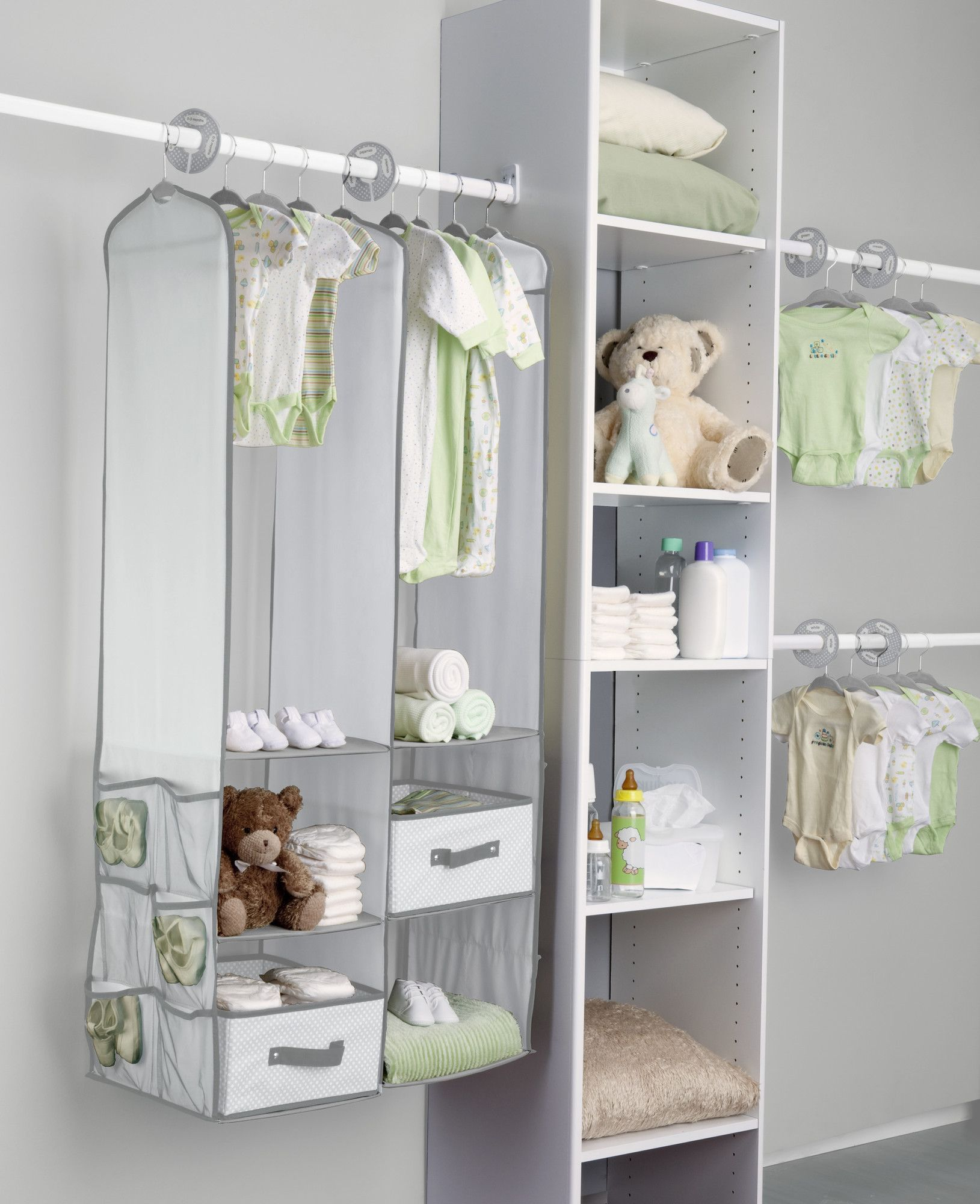 Delta Children 24 Piece Nursery Closet Organizer Set | Wayfair