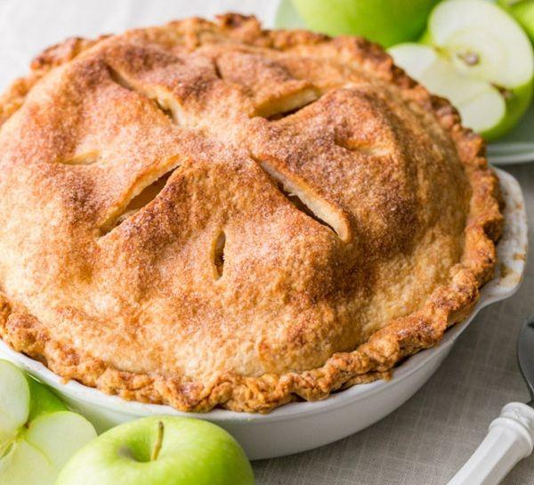 طريقة عمل فطيرة التفاح بالقرفة والمكسرات طريقة Recipe Apple Pie Recipes Deep Dish Apple Pie Cinnamon Apple Pie