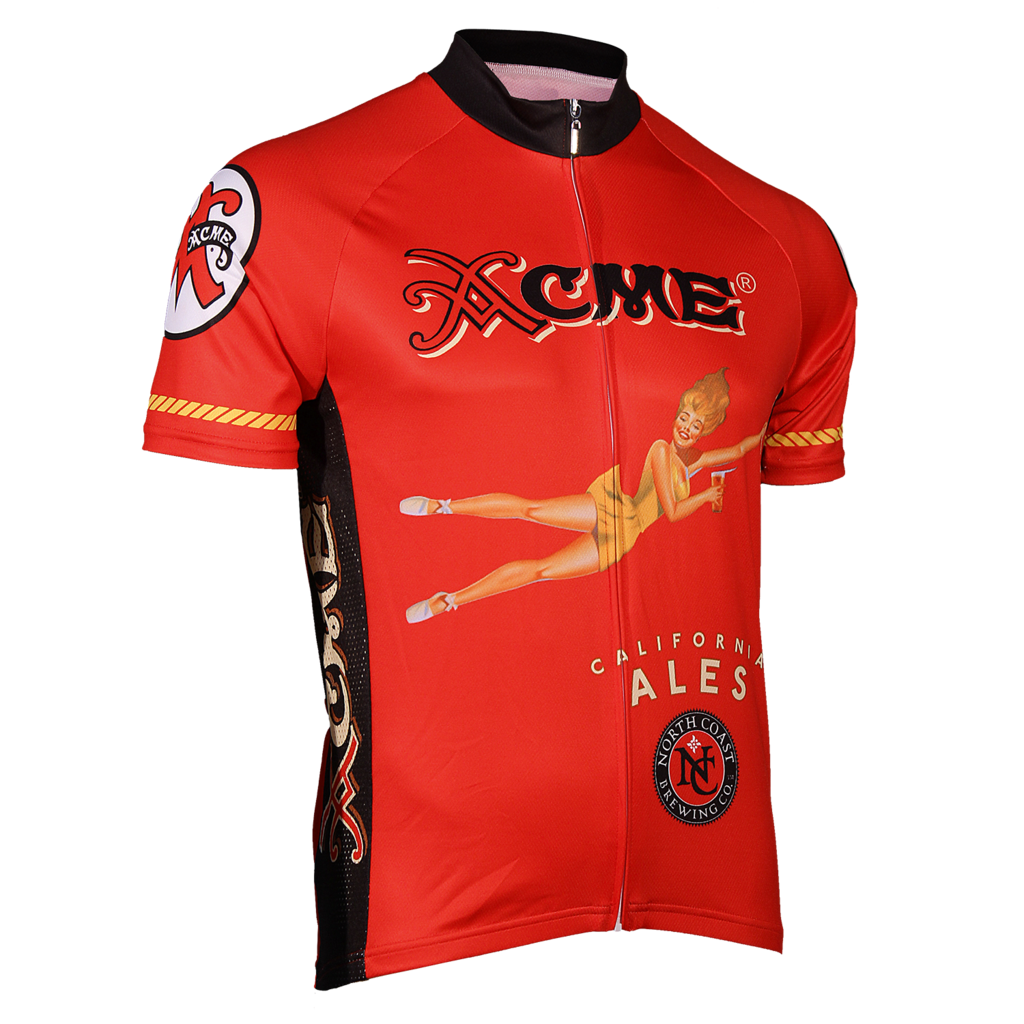North Coast Acme Red Cycling Jersey - FREE Shipping on great cycling jerseys  at cyclegarb.com ed1fbf8bc