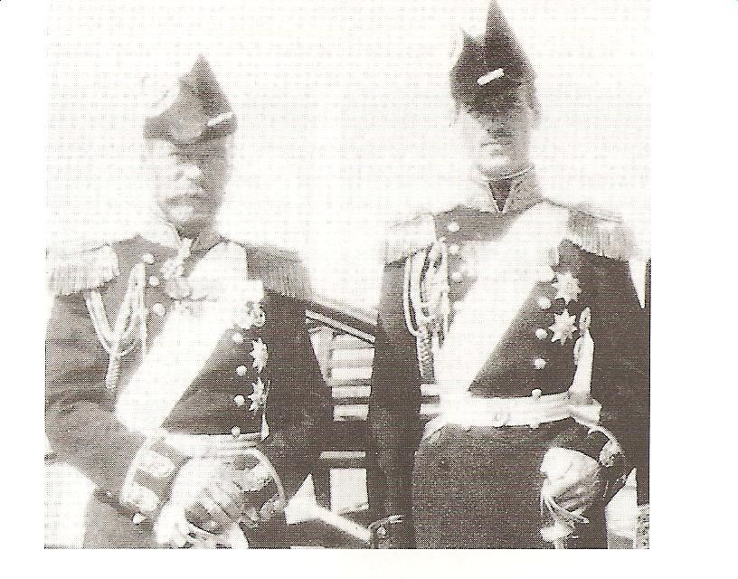 Tsar Nicholas Ii Of Russia And His Youngest Brother Grand Duke