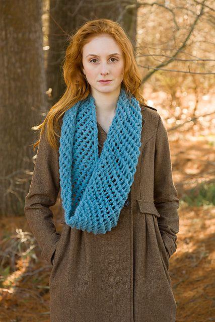 Classic Elite Century Courtenay Cowl Knitting Pattern PDF | Knit ...