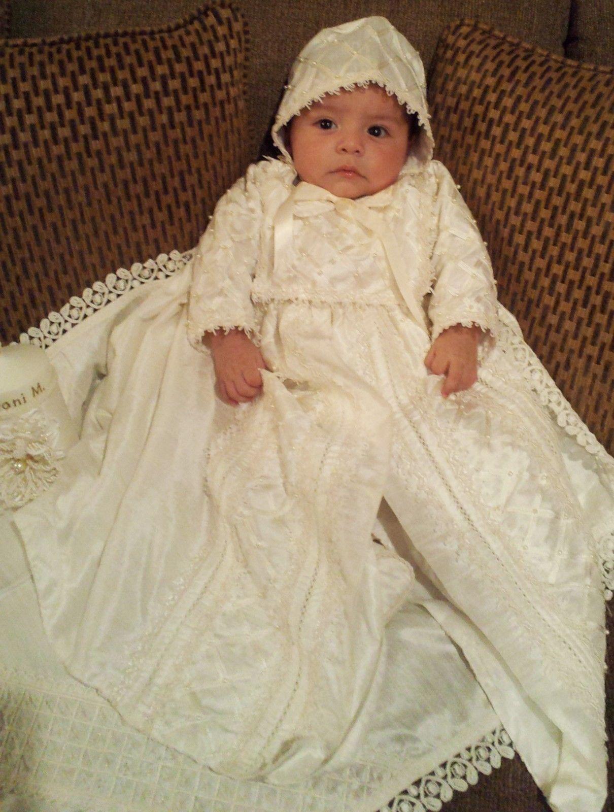 5f70815d1 Baby Boys Christening Baptism Outfit Spanish Style Ropones Para Bautizo |  eBay