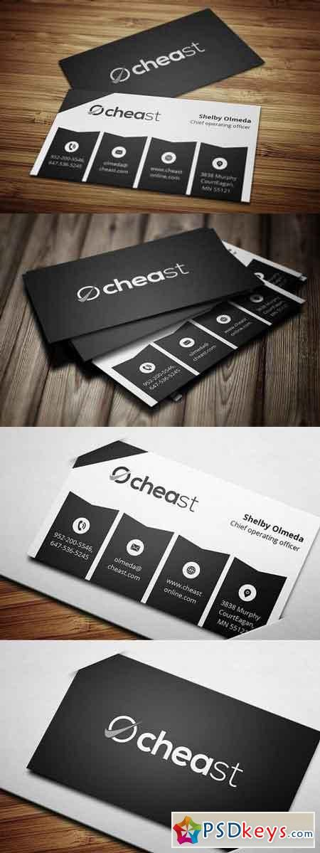 Modern Business Card 5 844943   de PSDKEYS   Modern business cards