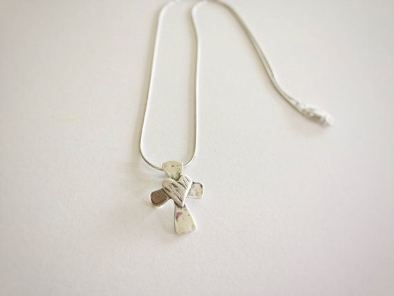 Christian jewelry, sterling silver christian charm