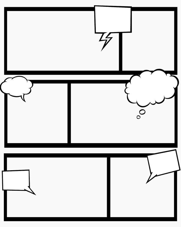 Комиксы\/ свой сюжет Поделки Pinterest Writing ideas and Child - blank id card template