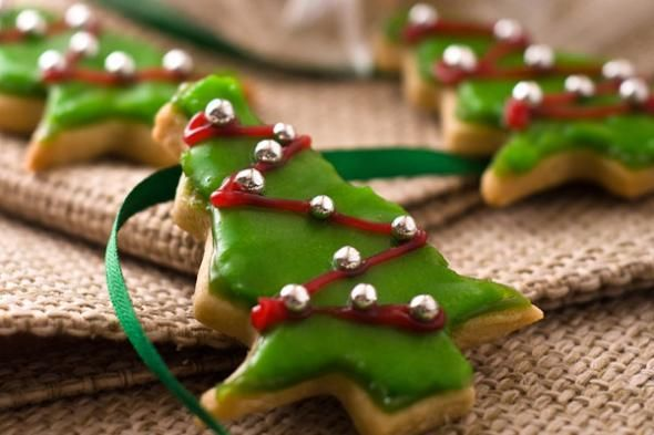 Almond Butter Christmas Tree Cookie Recipe It S The Holiday Season