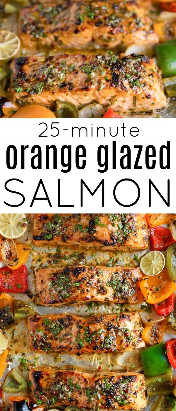 Chili Lime Orange Glazed Salmon Recipe (25 Minutes!)