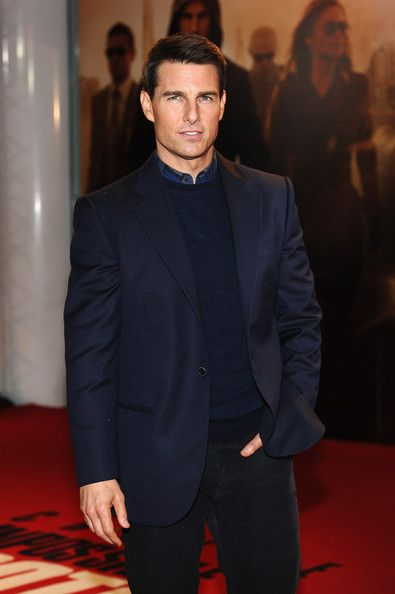 Tom Cruise - yes he may be crazy, but I still like him as an actor. Don't judge. LOL. Has he had plastic surgery? The man does not age...