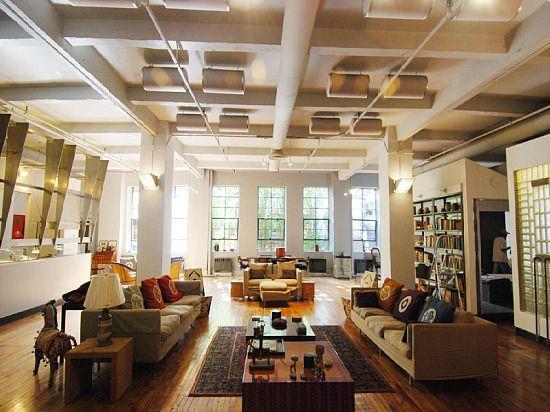 How Much To Live In A Loft In Manhattan S Greenwich Village Loft Living New York Loft Ny Loft