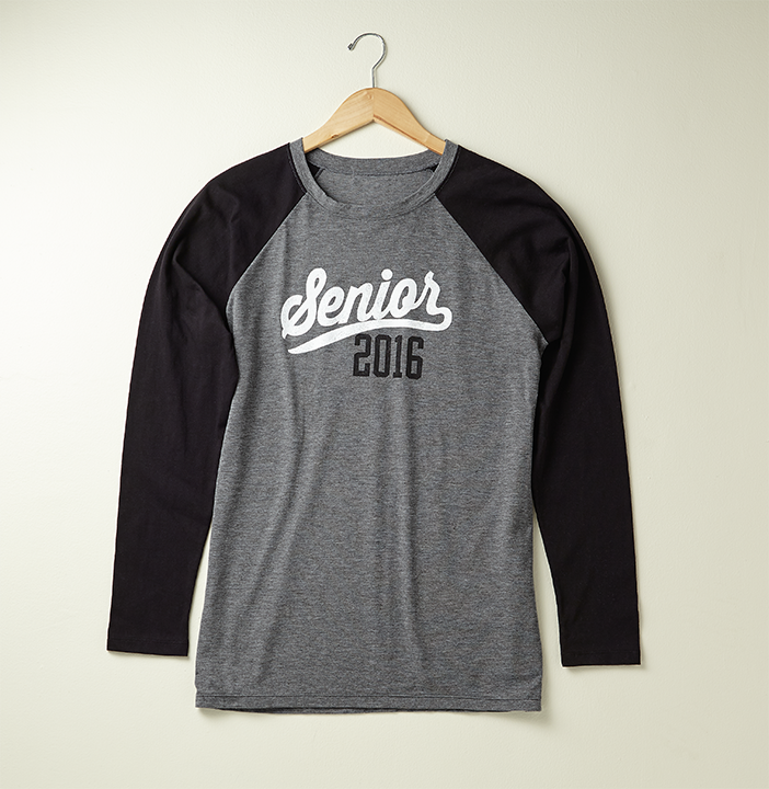 the senior baseball shirt jostens