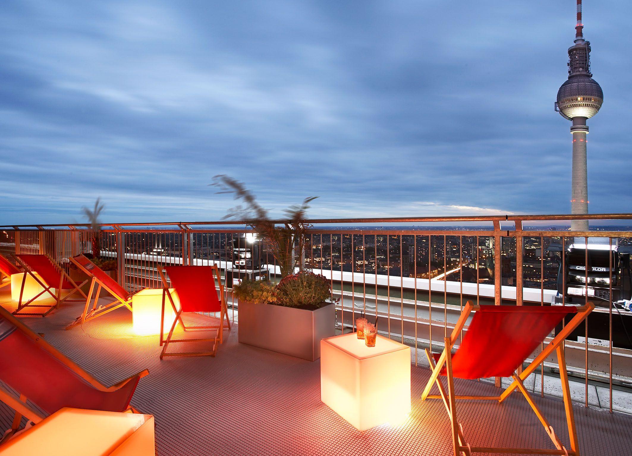Roof Terrace Park Inn By Radisson Berlin Alexanderplatz