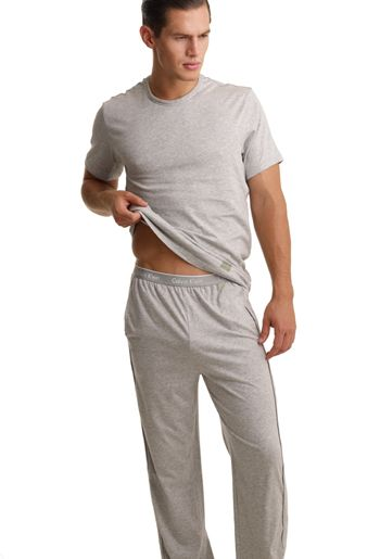 Stylish mens cotton loungewear pyjamas from Calvin Klein nightwear ...
