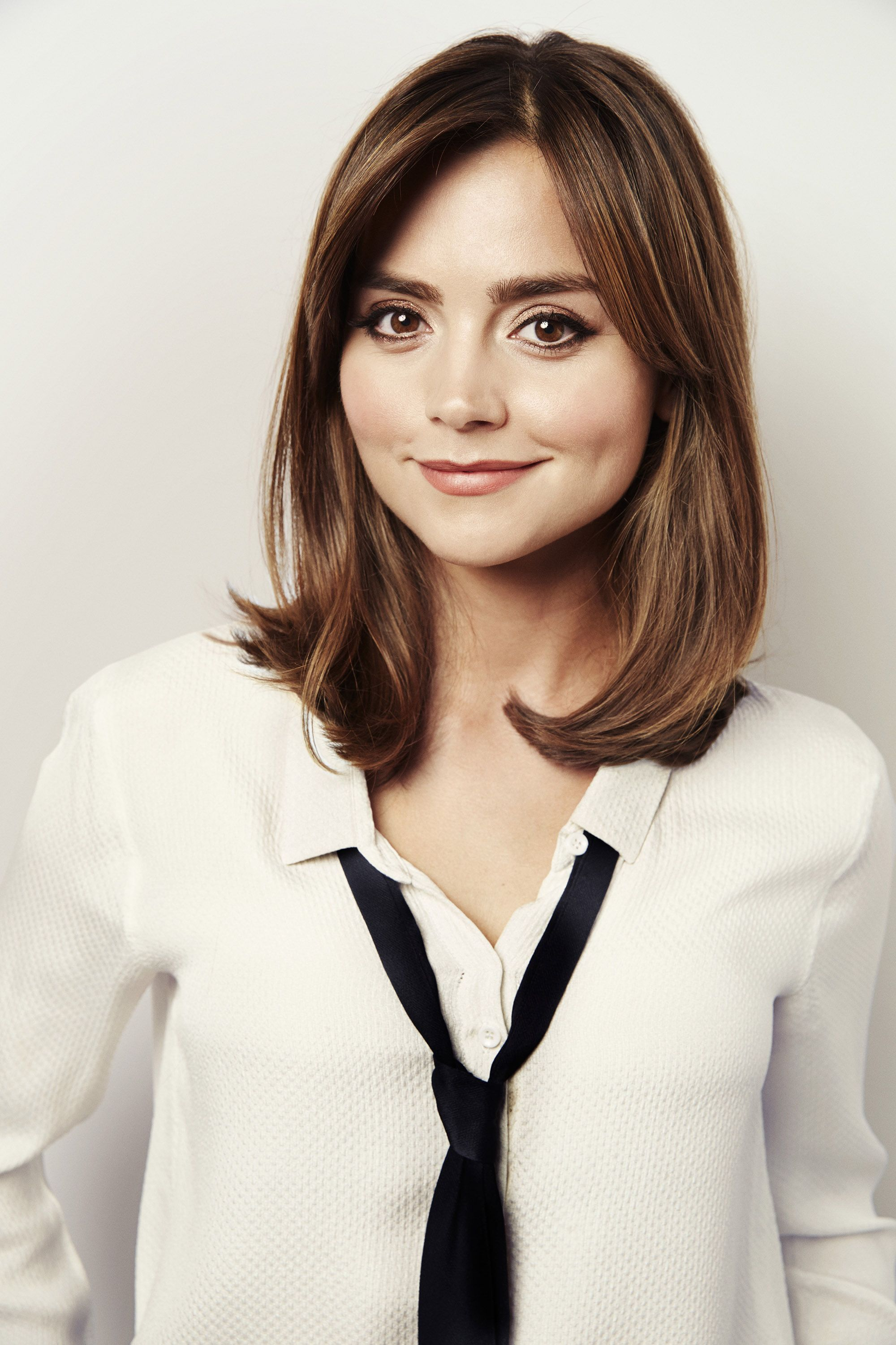 Jenna Coleman | women wearing ties | Pinterest