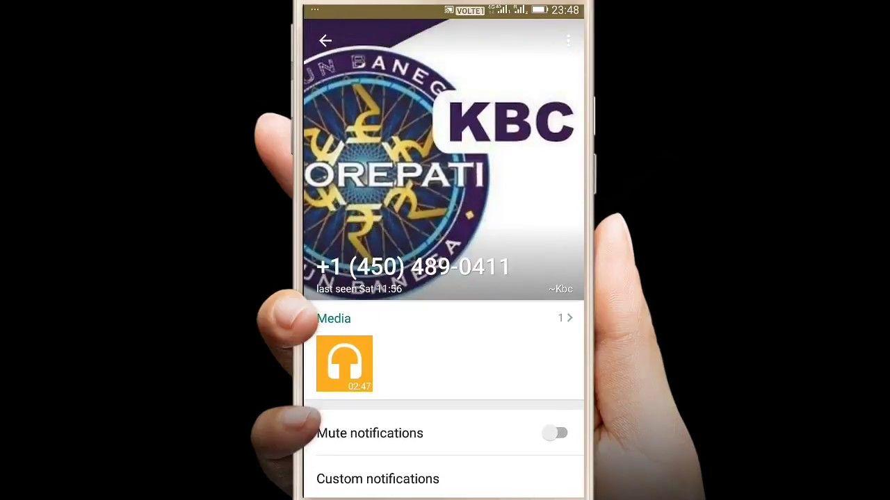 KBC Head Office Number 0019188444474 | KBC Whatsapp Number FAKE Call