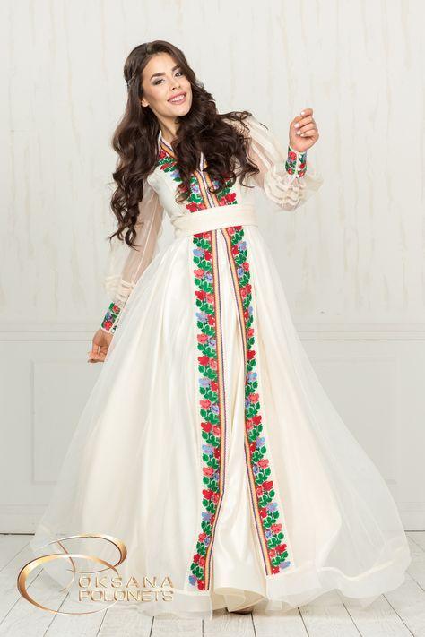 Весільна сукня від Дизайн-студії Оксани Полонець  81dbe85c31f6f