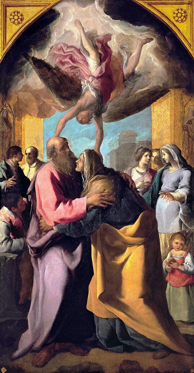 Nec Spe, Nec Metu, Eugenio Caxés, Saint Joachim and Saint Anne ...