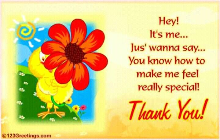 Thank You For Making Me Feel Special In Somehow Gratitude Board
