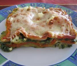 Rezept Spinat-Tomaten-Lasagne von Ritzicook - Rezept der Kategorie Hauptgerichte mit Gemüse