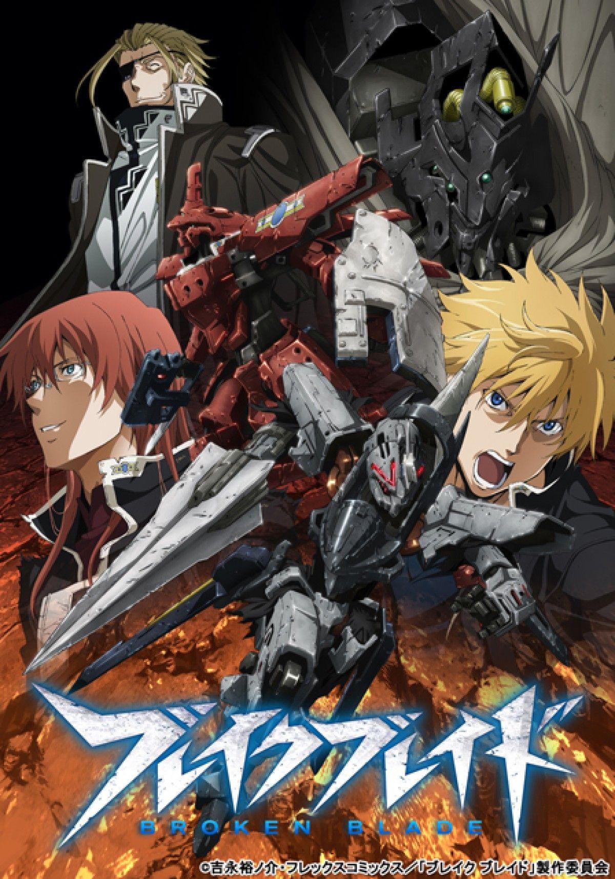 Top 19 Anime Series With Giant Robots Broken blade
