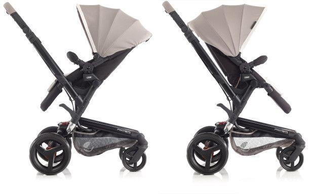 Los cochecitos de bebé convertibles, más ligeros y versátiles