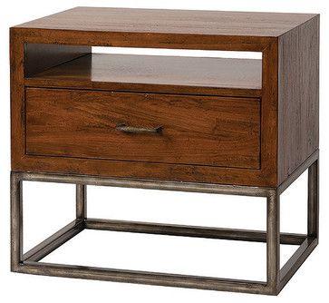 Best Copenhagen Nightstand With Shelf Modern Nightstands And 400 x 300