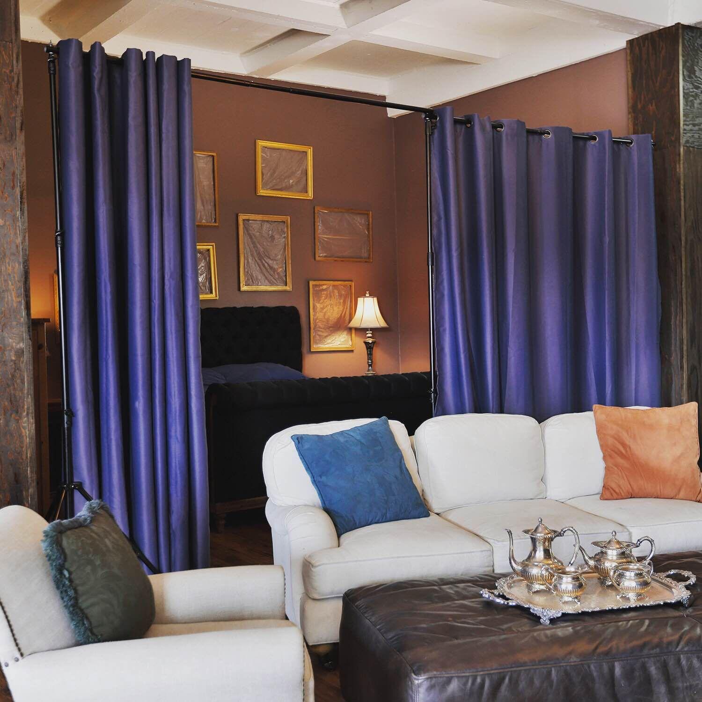 Freestanding room divider kits loft spaces repurposing and divider