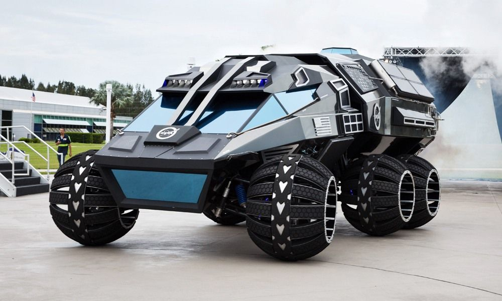 Nasa S Mars Rover Looks Exactly As A Space Car Should Concept