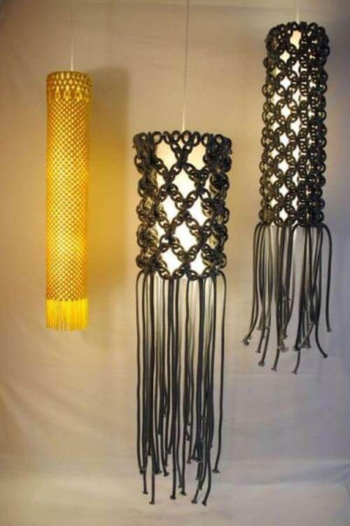 Ideas para decorar con macramé 13