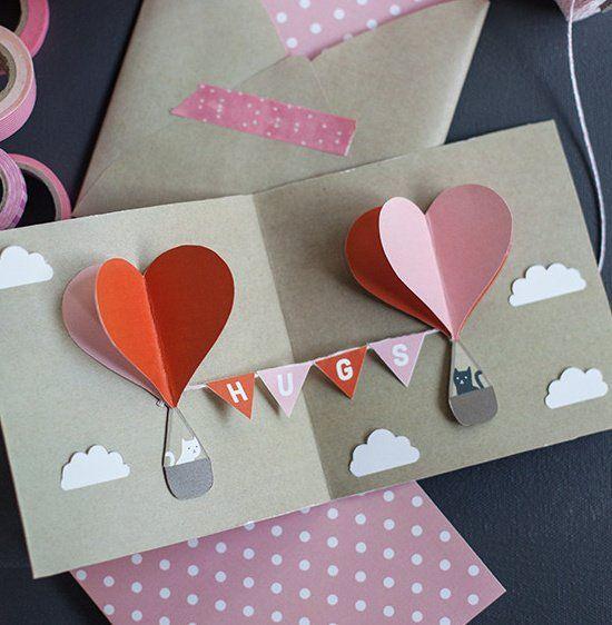 Tarjeta 3d Mejores Cartas De Amor Love Manualidades De Amor