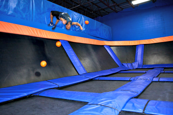 Ultimate Trampoline Dodgeball Sky Zone Indoor Trampoline
