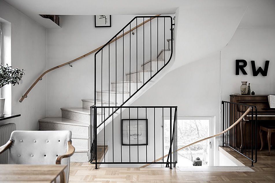 Vacker trapp