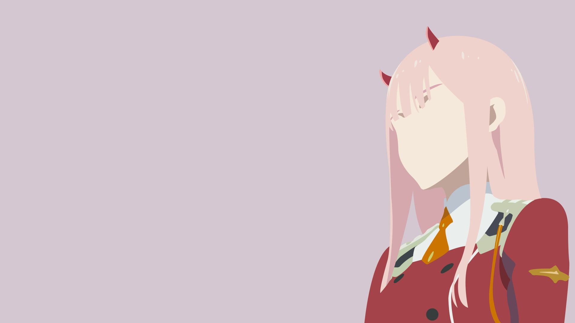 Anime Darling In The Franxx Minimalist Wallpaper Anime Wallpaper Anime Computer Wallpaper Desktop Wallpaper Art