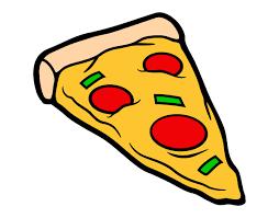 Resultado De Imagen Para Dibujos De Pizza Para Imprimir Dibujo De Pizza Beneficios De Alimentos Pizza