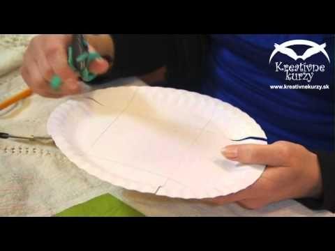 Papierové košíčky - YouTube