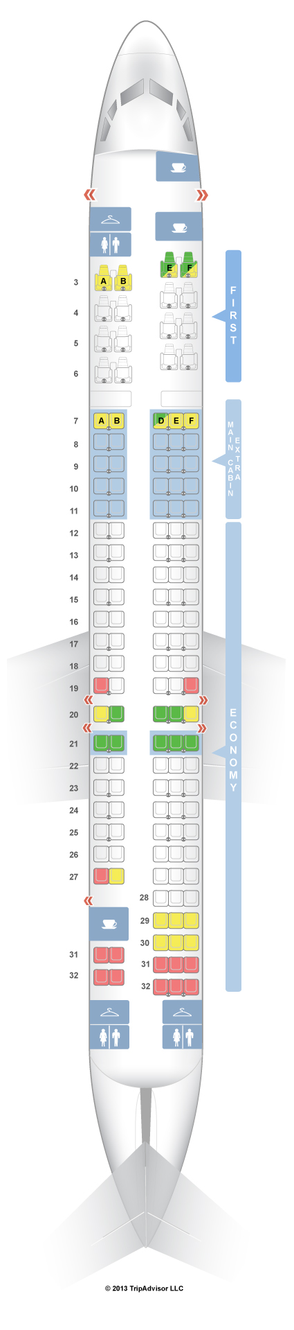 American Airline Md 80 Seating Chart Heartimpulsarco Eeb90d136930f938b9b8ec5afff369f0 Embraer Erj 175 Seat Map