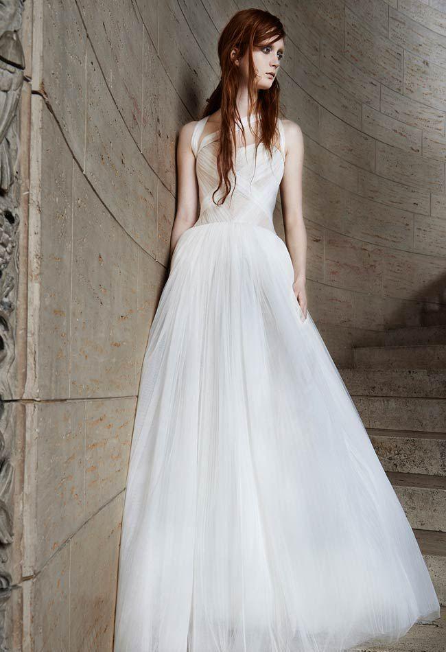Vera Wang Spring 2015 Wedding Dresses Vera Wang Bridal Wedding Dresses Vera Wang Spring Wedding Dress