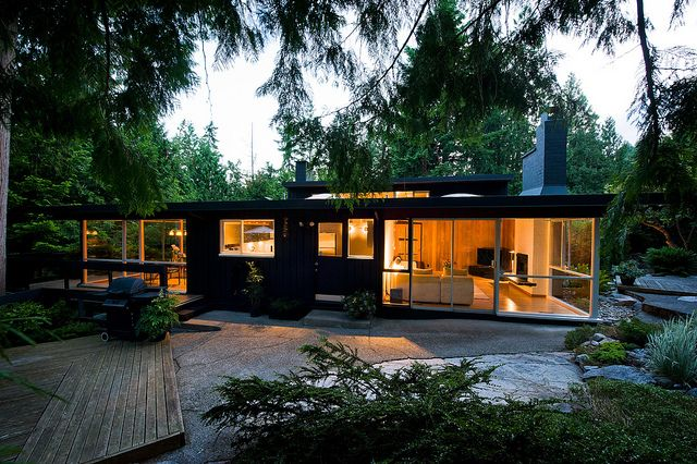Donald Manning West Vancouver Mid Century Modern House Mid Century Architecture Mid Century House