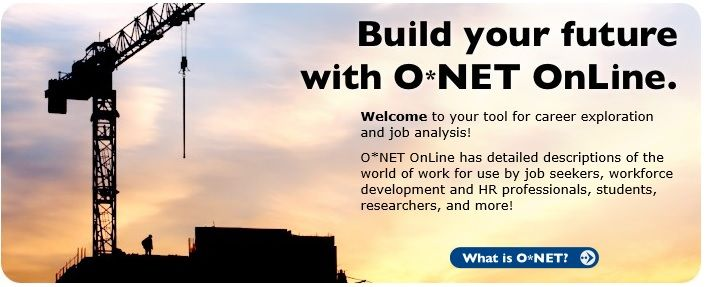 O*net online onetonlineorg is a great resource for career - onet online resume