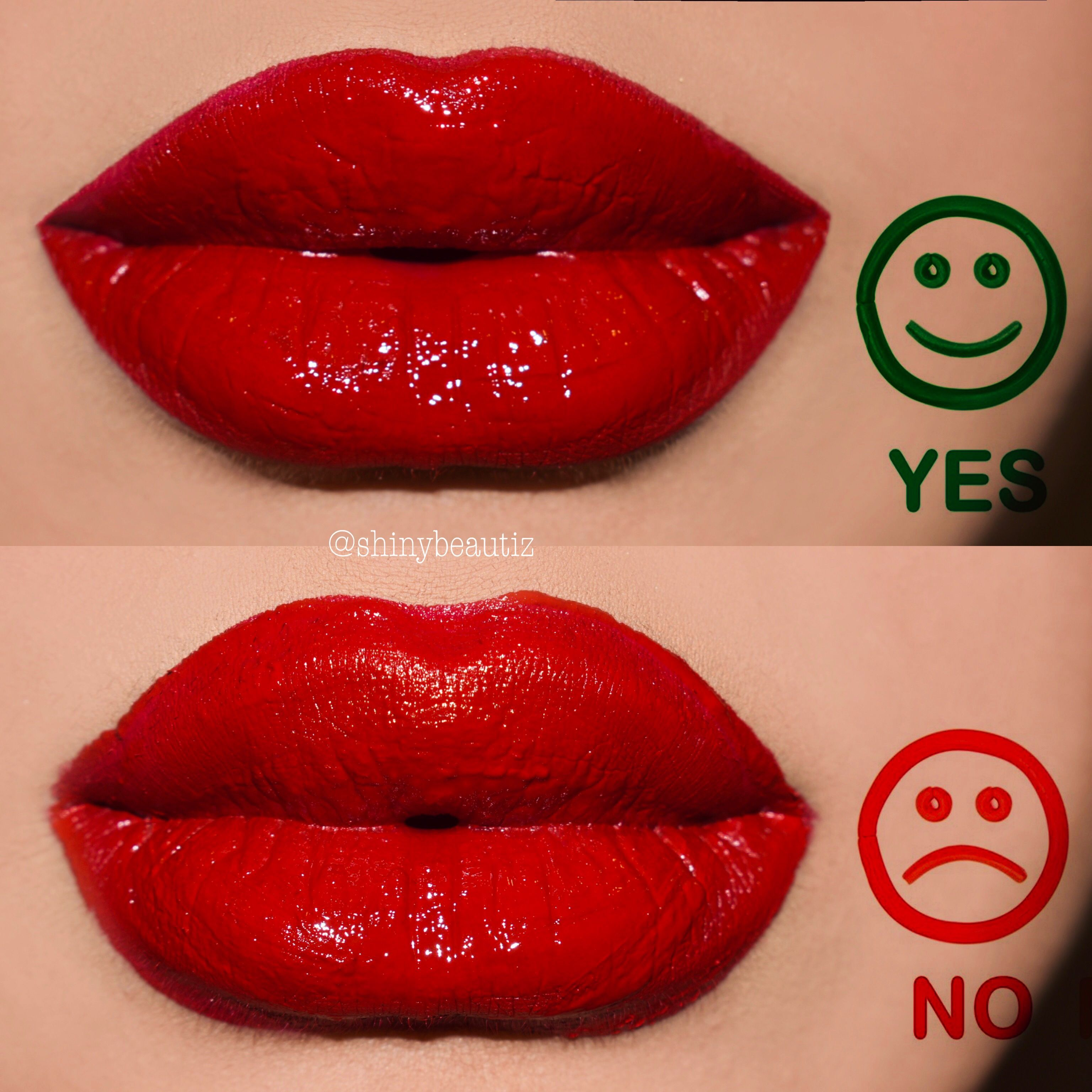 Image result for Overdrawn lips