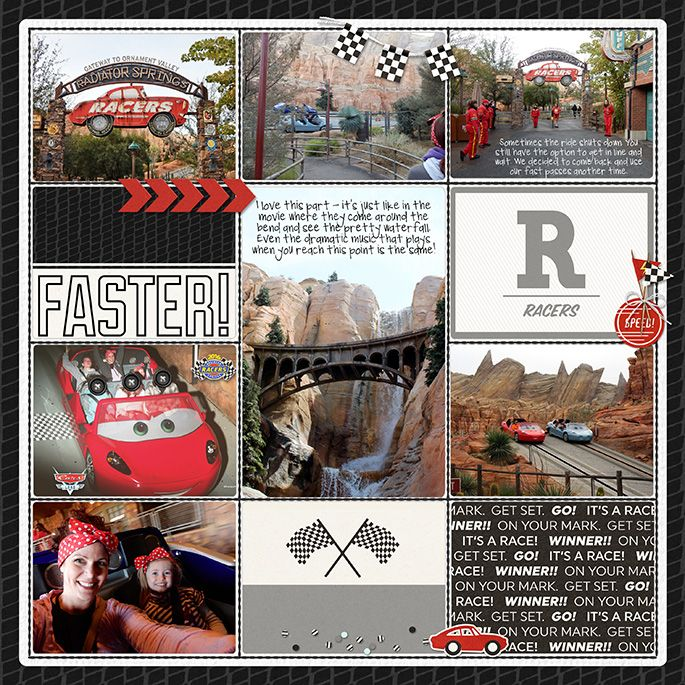 Carsland Radiator Springs Racers | A Disney Project Mouse Story - A Photo Book from Kathleen Summers - Sahlin Studio Project Mouse