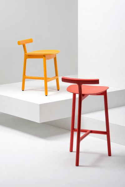London Based Design Studio Industrial Facility Presents During The Milan  Design Week 2013 The U0027Radiceu0027 Stools, Result Of Its Second Collaboration  With ...