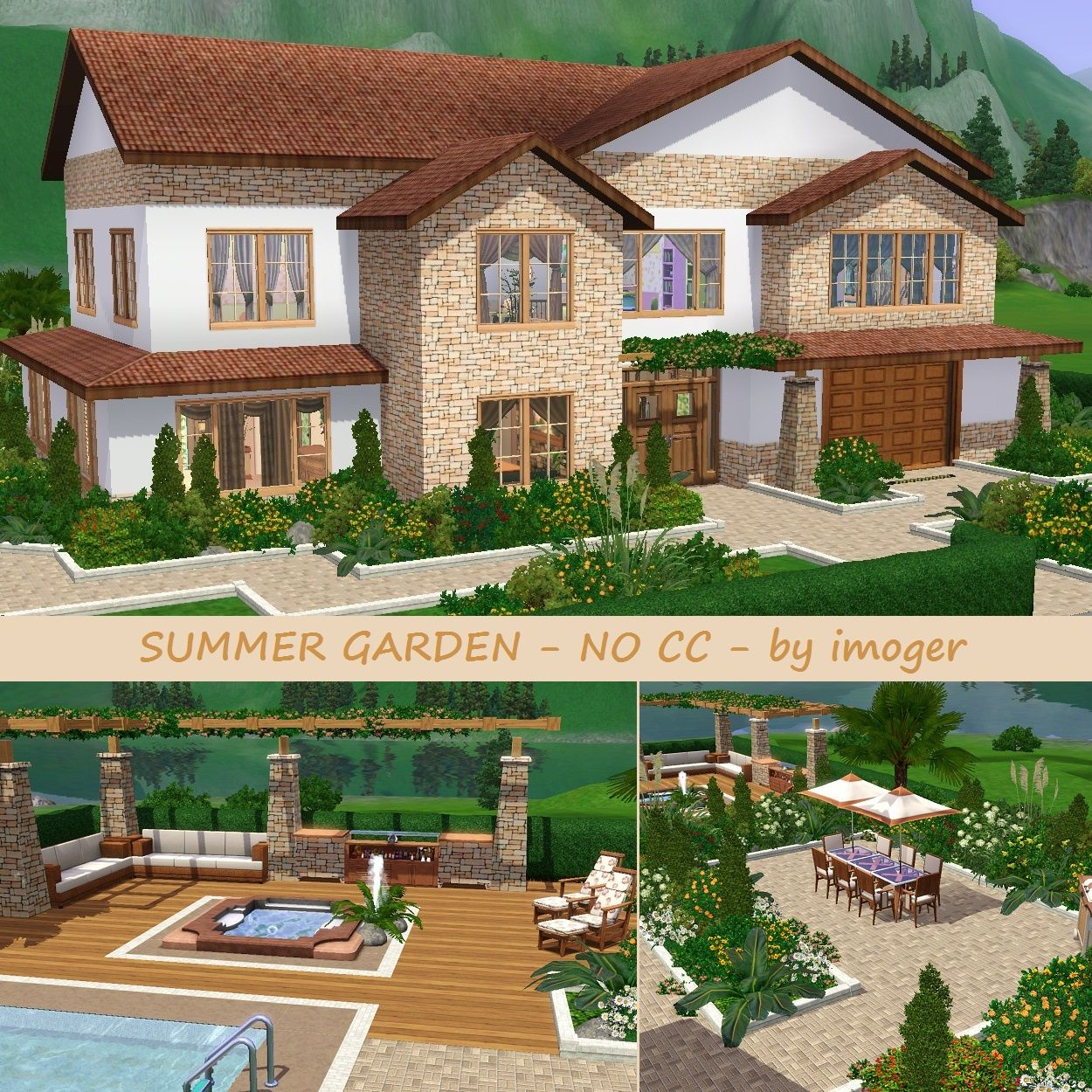 Sims 3 Family Houses - Google Search