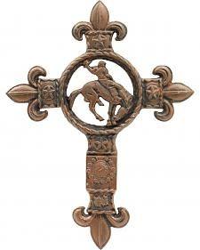 M&F Western Cast Iron Saddle Bronc Cross