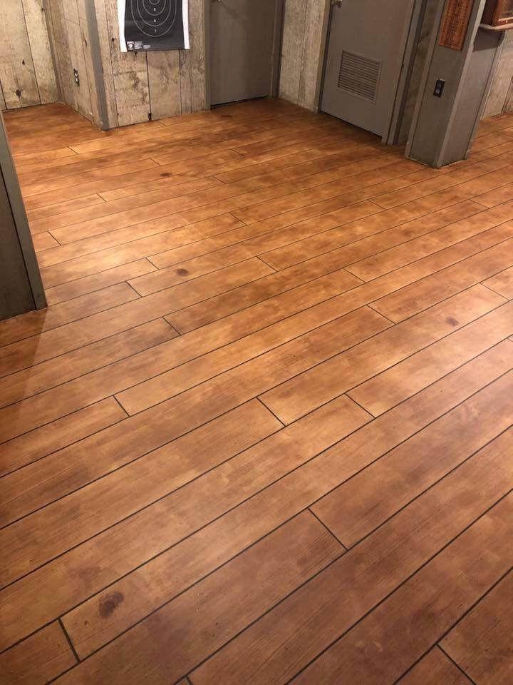 Rustic concrete wood basement basement remodeling plans