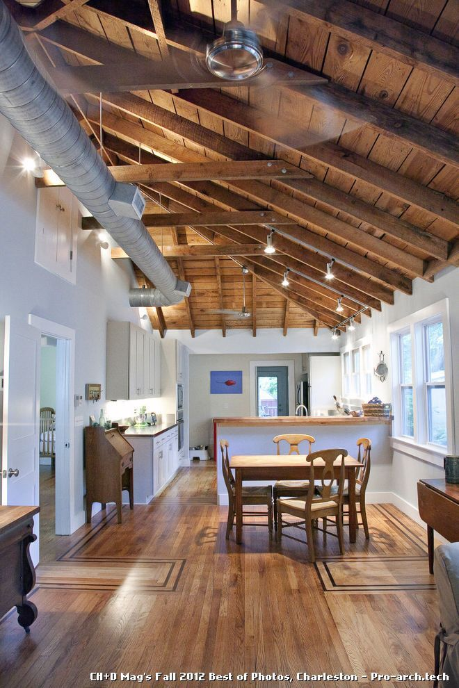 9 Exposed Ductwork Of The Day Pro Architect Design Studio Exposed Wood Ceilings Exposed Rafters Exposed Ceilings