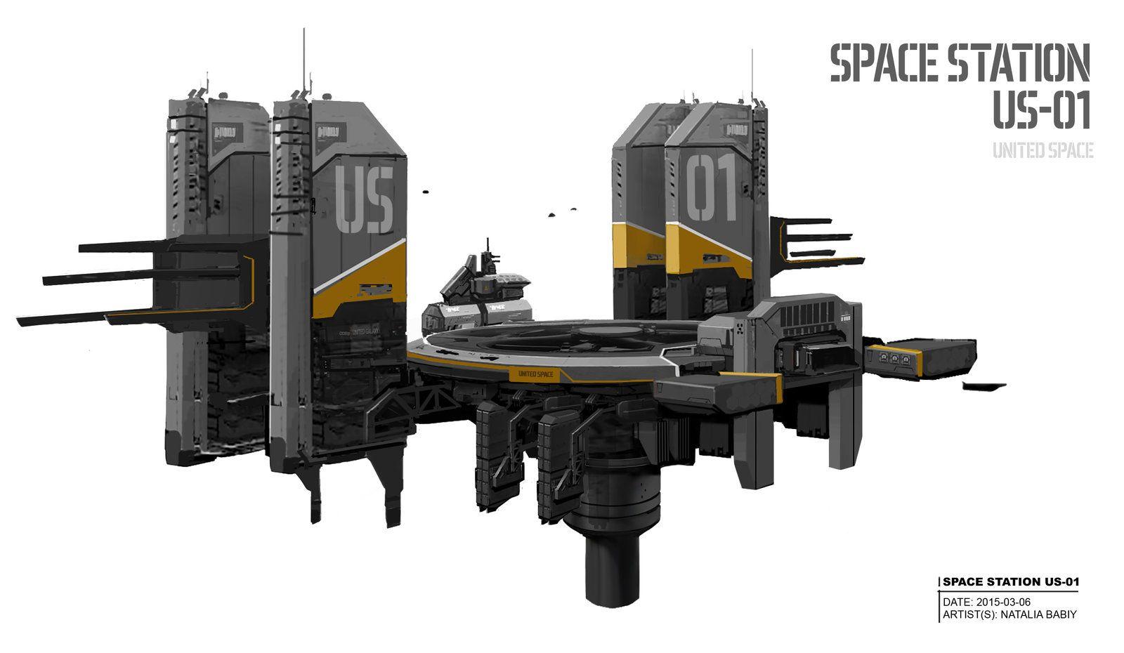 Space station US01 (United Space), Natalia Babiy on
