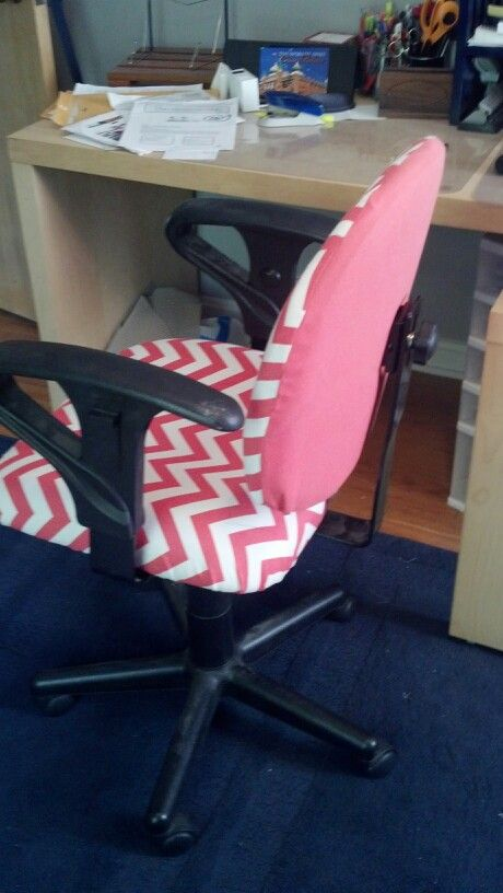 Re-covered Desk chair