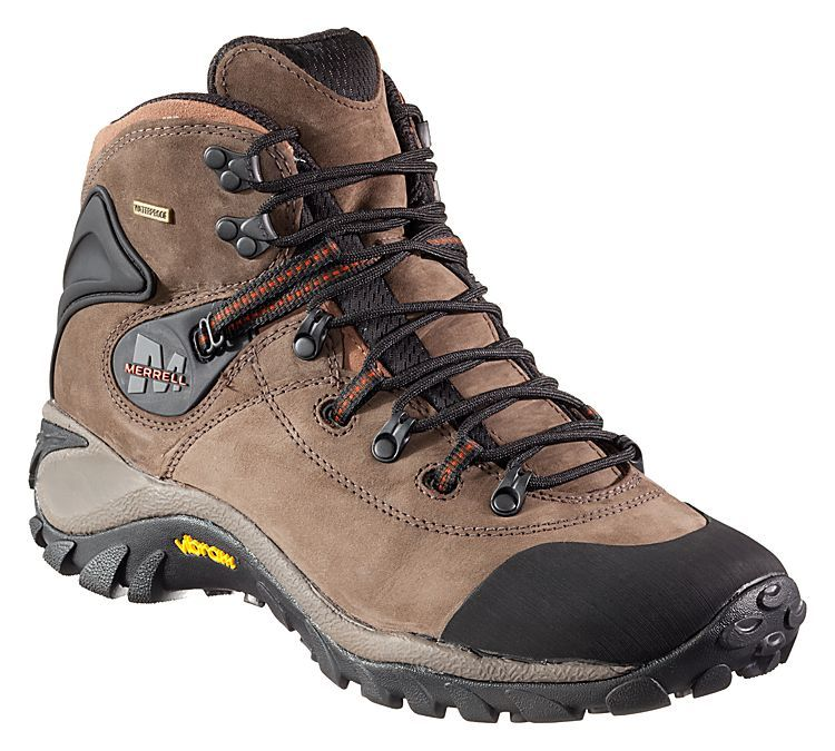 eb5bb060f5c Merrell Phaser Peak Waterproof Hiking Boots for Men | Bass Pro Shops ...